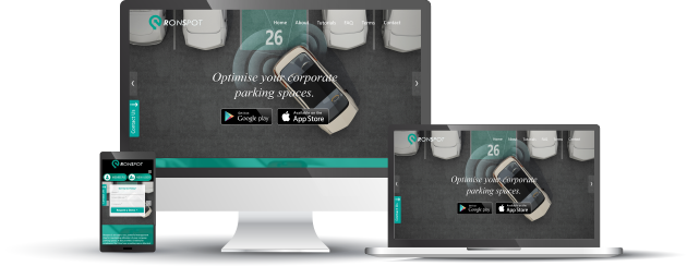 employee parking app desktop