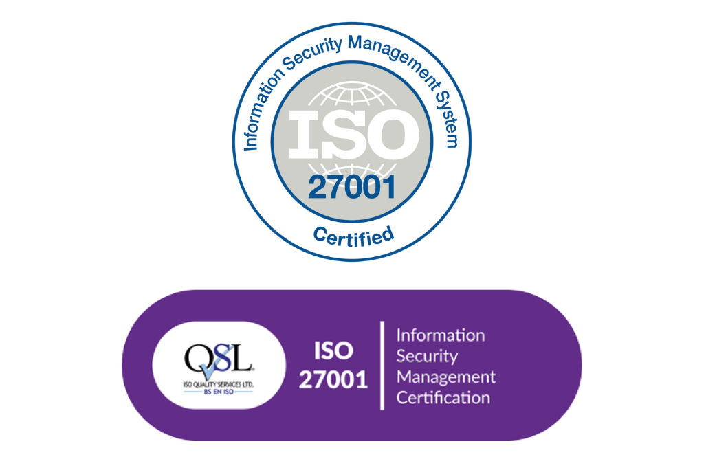 ISO 27001 Certification - QSL security