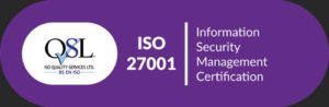 Ronspot ISO 27001 Certification