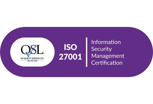 Ronspot ISP 27001 Certification