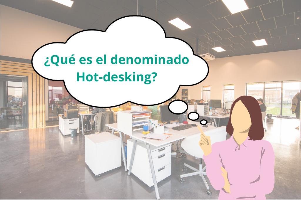 Hot-desking in Spanish