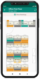 hybrid workplace culture, train managers with this easy to use ronspot app