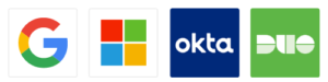 Google, Microsoft, Okta and Duo Single Sign-On