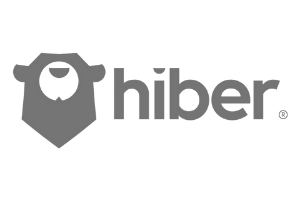 Hiber grey logo