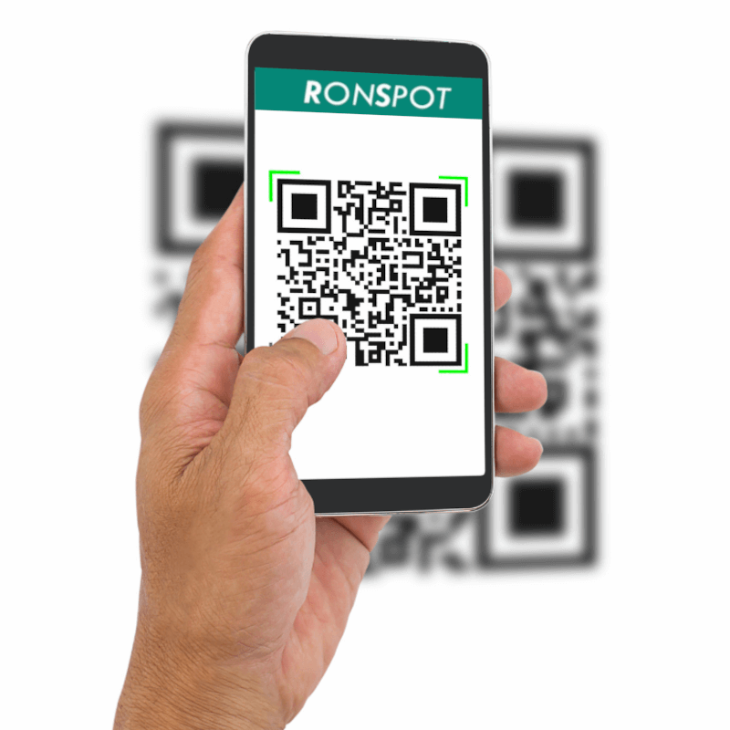 Ronspot Desk and Parking check in system with QR code