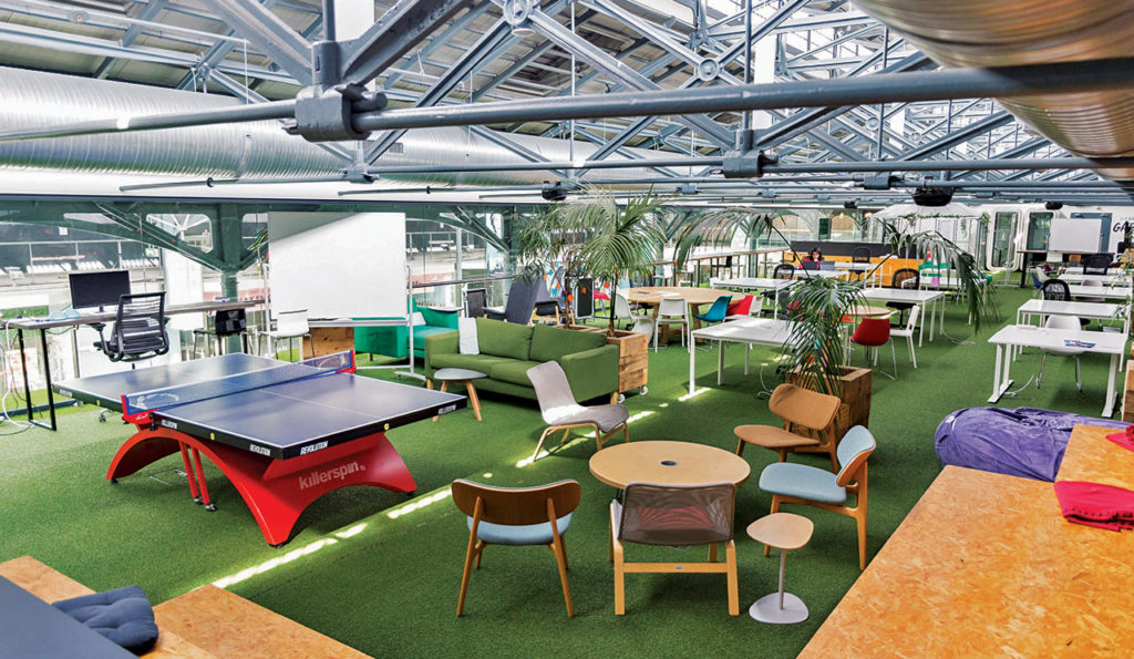 Dogpatch co-working spaces