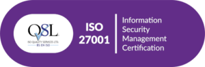 Ronspot certified ISO 27001